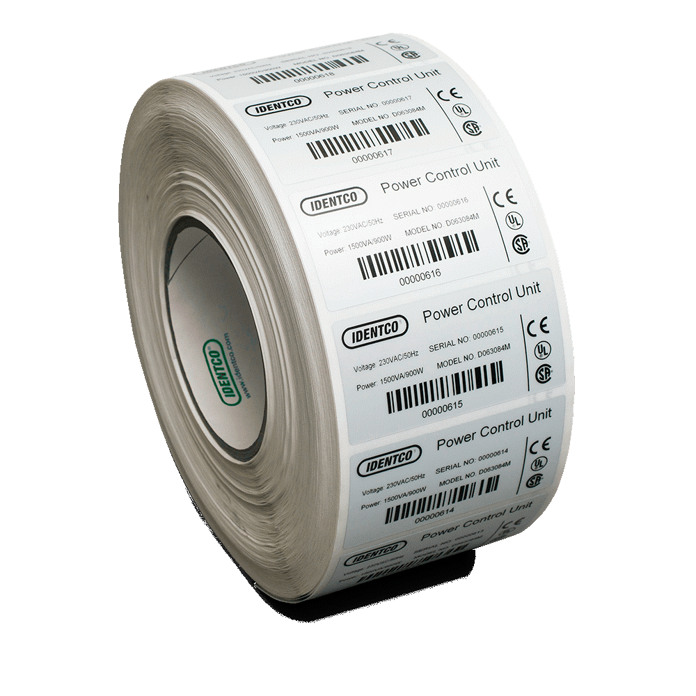 It is an image of Intrepid Ul Approved Label Printer